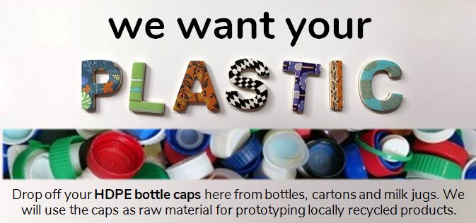 Donate your HDPE bottle caps to us!